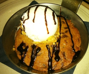Cookie and ice cream