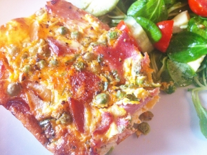 Ham and Chorizo Frittata